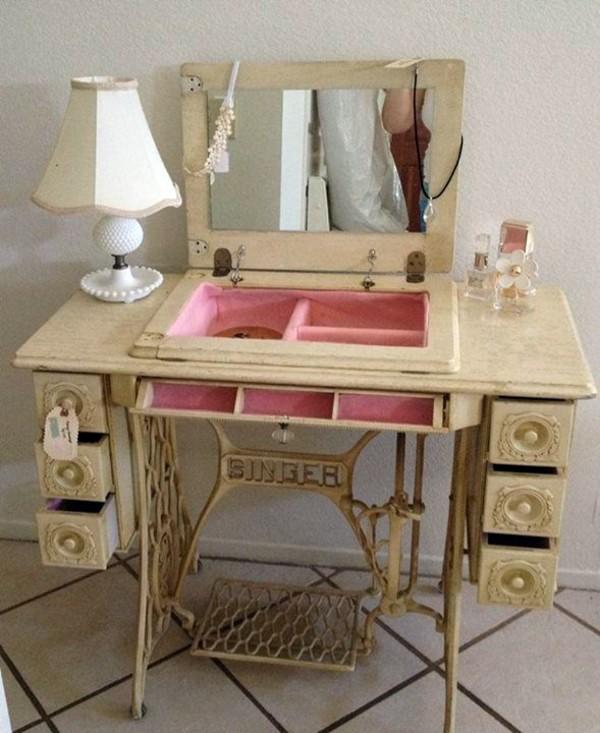 Как сделать старую швейную машинку