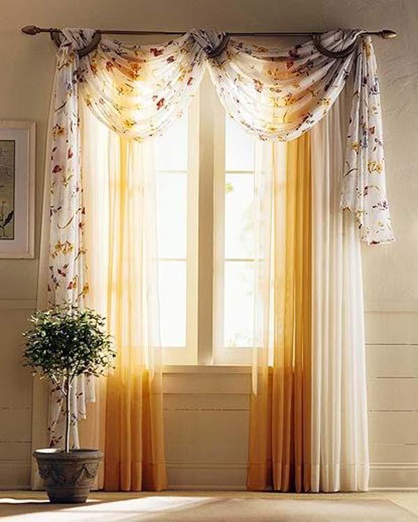 Дизайн штор и занавесок на окна