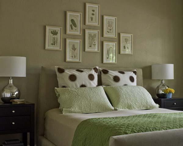 рисунки на зеленой стене фото